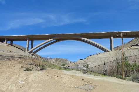 Galena Creek Bridge, New Washoe City, United States